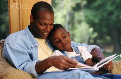 Accept. black man reading assured, what