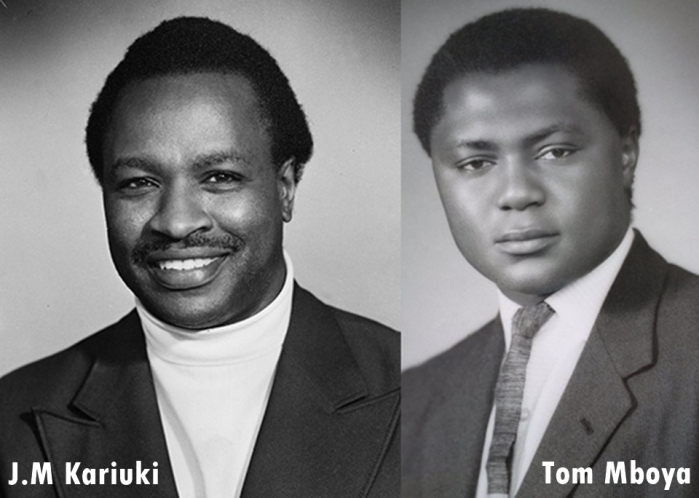 Tom mboya and J.M Kariuki