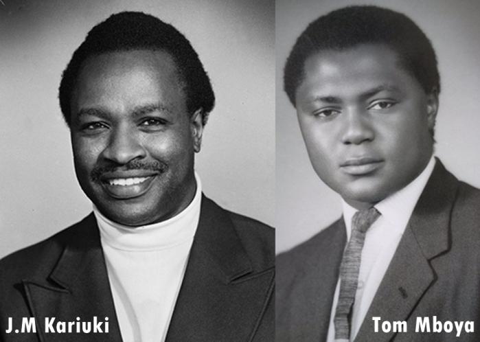 Tom mboya and J.M Kariuki